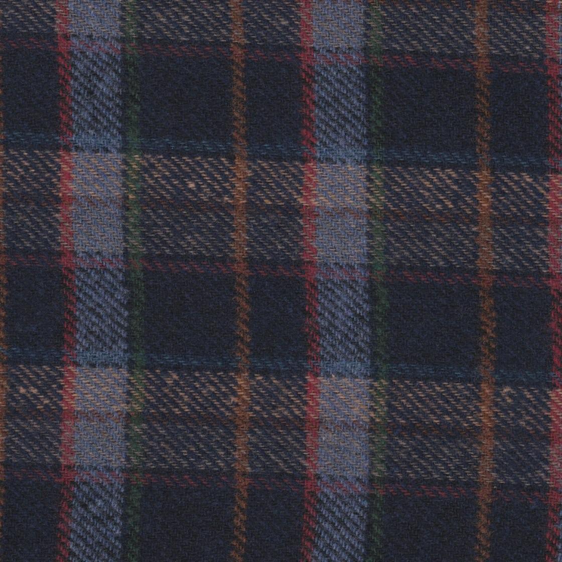 Ecossais - Textile à chaussons
