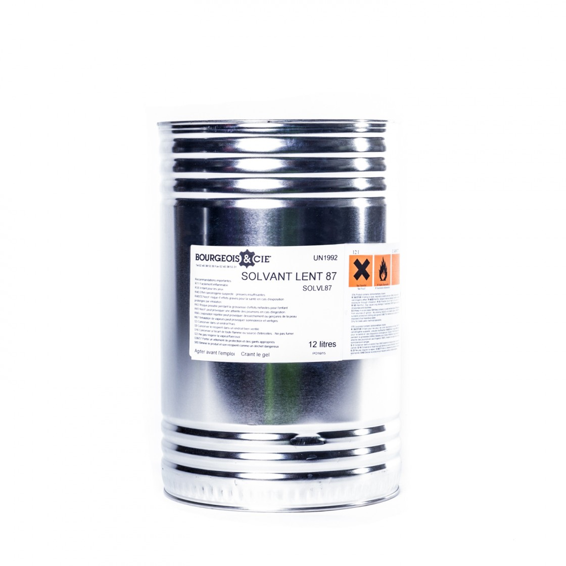 Solvent for counters